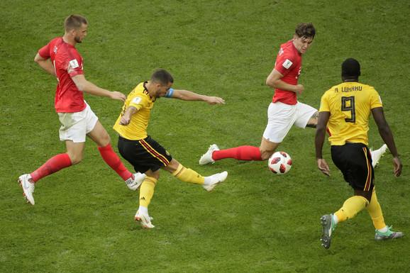 Fudbalska reprezentacija Belgije, Fudbalska reprezentacija Engleske