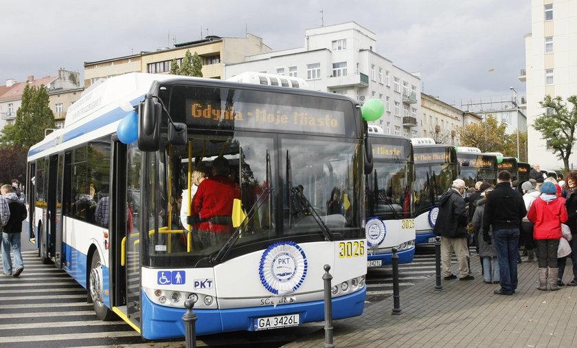 prezentacja trolejbusy gdynia
