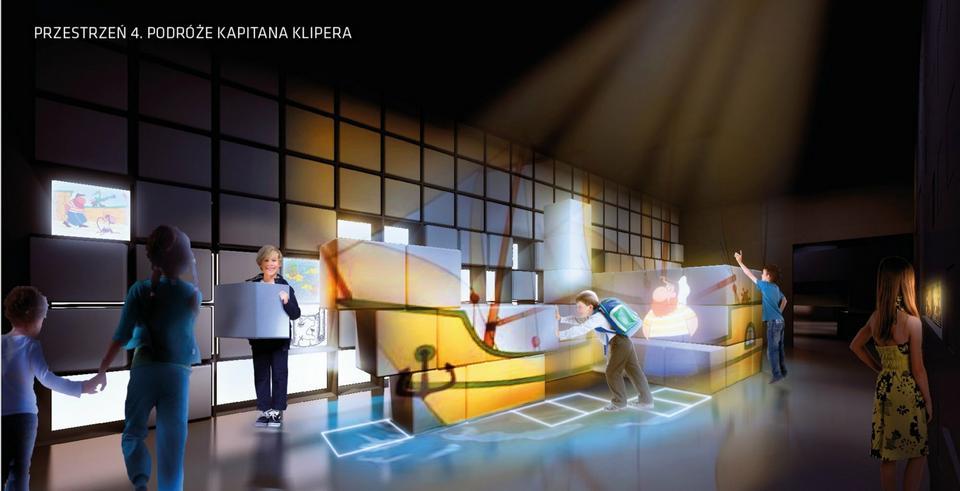 Wizualizacja Interaktywnego Centrum Bajki i Animacji