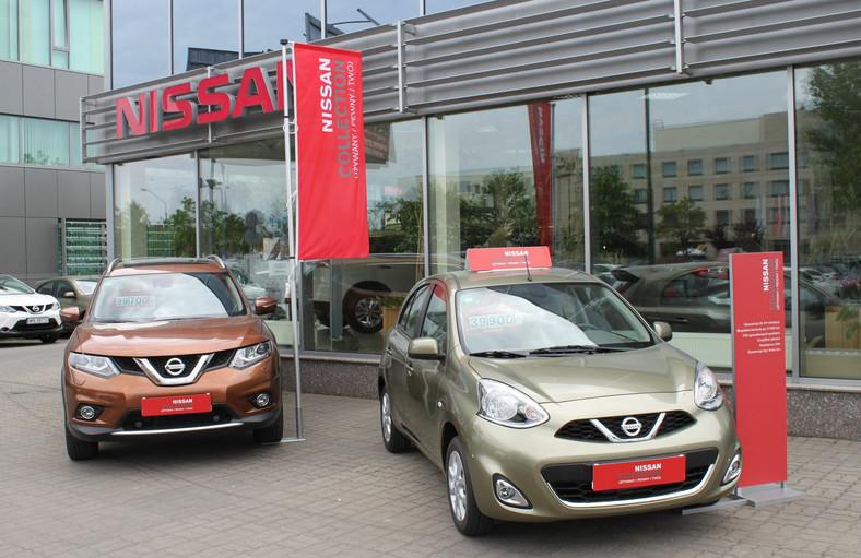 Nissan x-trail i micra