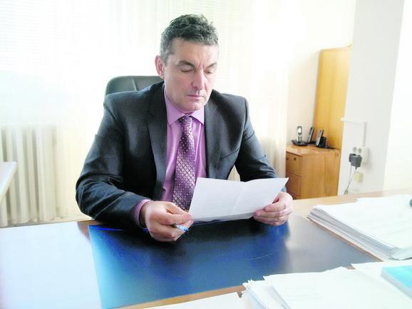Ljubiša Milačić, direktor Visoke poslovne škole u Blacu