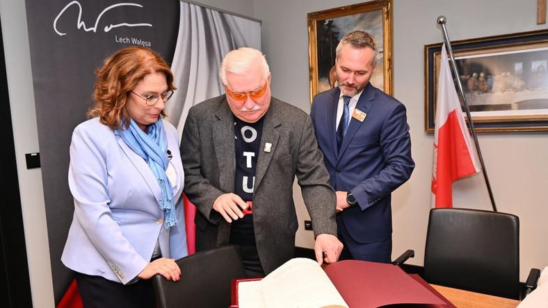 Małgorzata Kidawa-Błońska, Lech Wałęsa, Jarosław Wałęsa