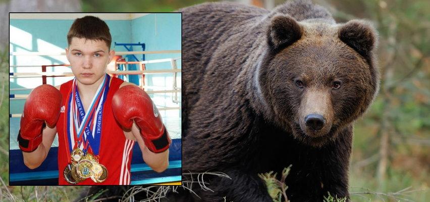 Niedźwiedź rozszarpał mężczyznę, a jego kolega od razu go pomścił. Bokser zabił zwierzę w nierównym pojedynku