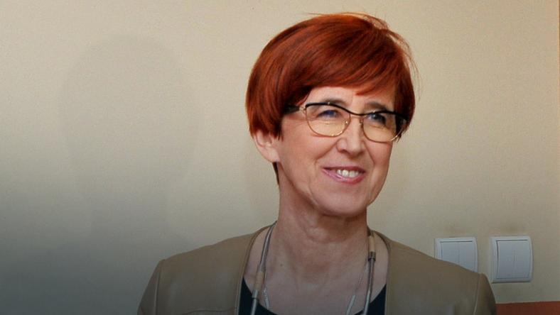 Minister rodziny, pracy i polityki społecznej Elżbieta Rafalska