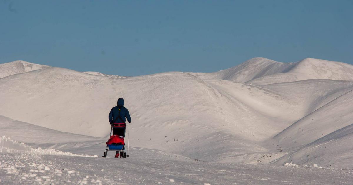 Drumul prin Iadul Alb al lui Tibi Ușeriu, singurul român rămas în ultramaratonul Arctic Ultra 6633