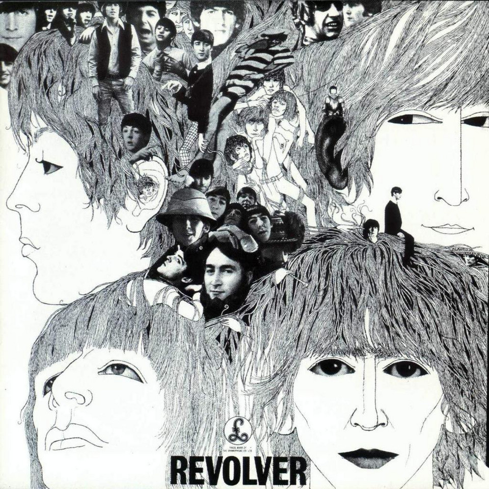 "3. The Beatles - ""Revolver"""