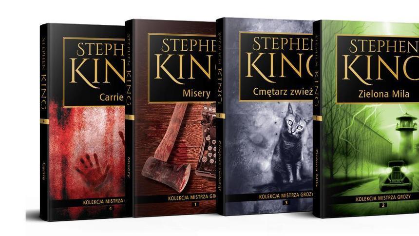 Znalezione obrazy dla zapytania king książki