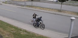 Złodziej roweru złapany i dojechany na ulicy. Daleko nie uciekł