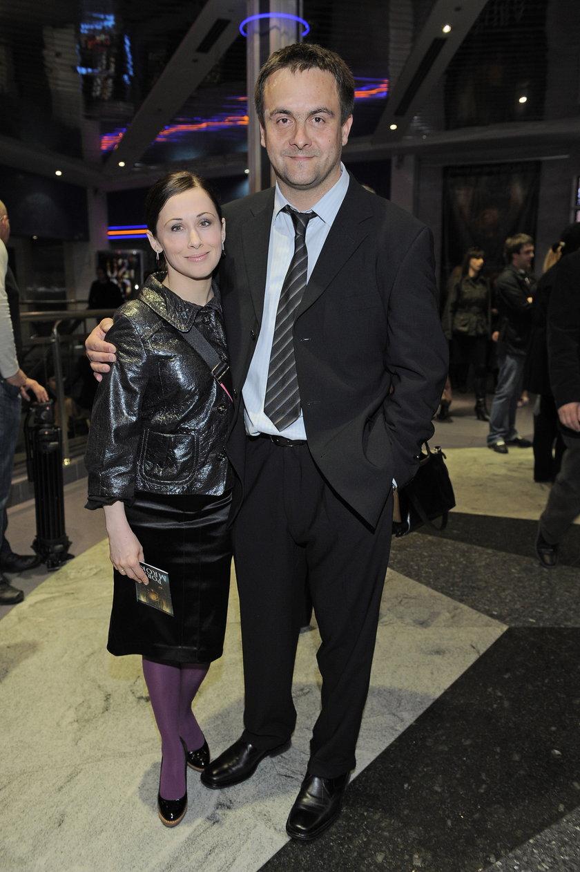 Jolanta Fraszyńska i Grzegorz Kuczeriszka