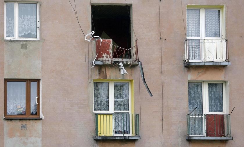 Ogrodzieniec. Wubuch butli w mieszkaniu przy ul. Słowackiego