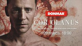 """""""Coriolanus"""" w National Theatre Live po raz pierwszy w Multikinie"""