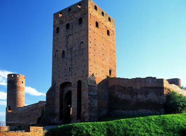 Czersk, ruiny zamku