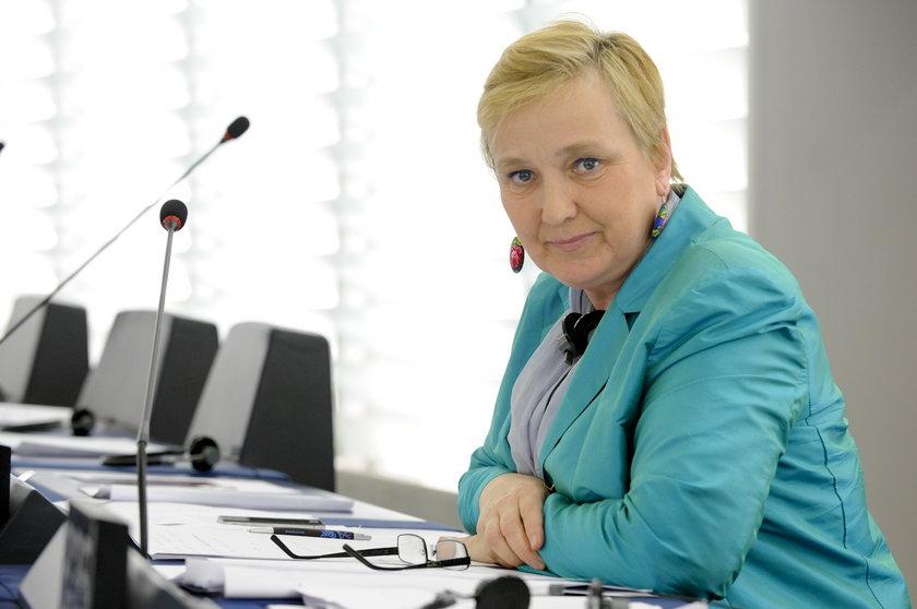 Skandaliczne słowa wiceprzewodniczącego PE o europosłance PO