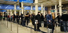 Nowa odmiana koronawirusa. Tłumy mieszkańców uciekają z Londynu
