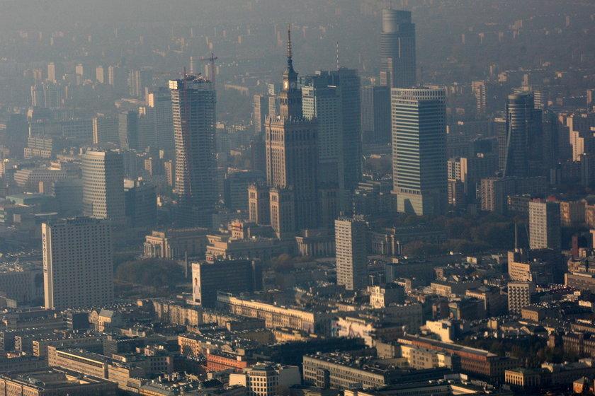 Śródmieście jest zanieczyszczone