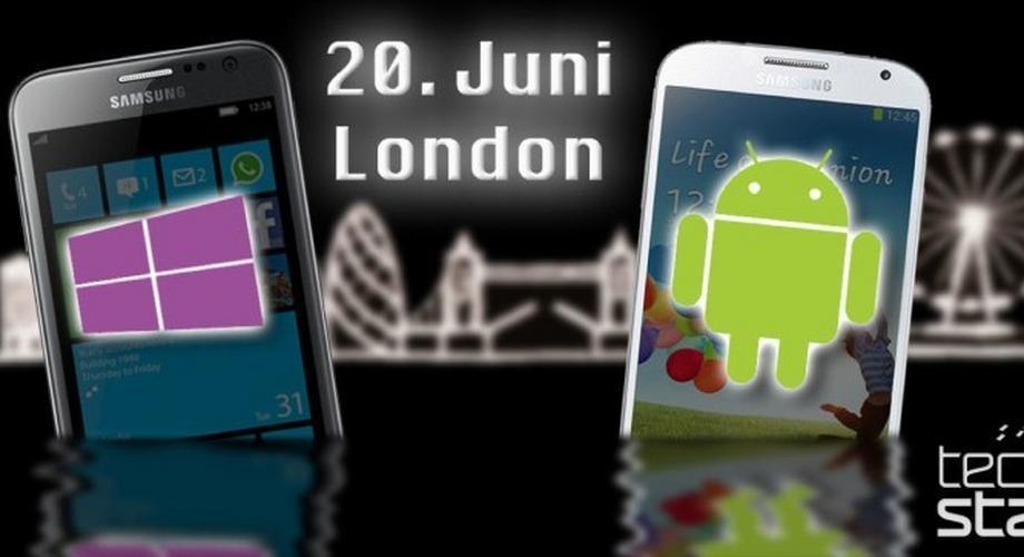 Samsung stellt am 20. Juni neue Galaxy- und Ativ-Geräte vor
