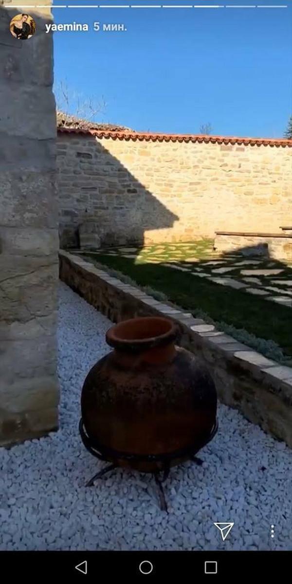 Emina Jahović - poseta muzeju