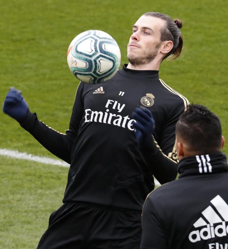 Garet Bejl, trening FK Real Madrid