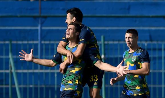 Fudbaleri Zemuna osvojili su bod protiv Spartaka