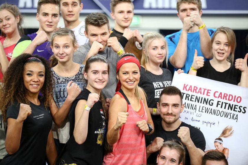 Anna Lewandowska porwała tłumy łodzian