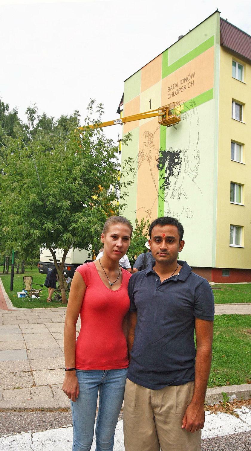 Małżeństwo Polki i Hindusa z Białegostoku