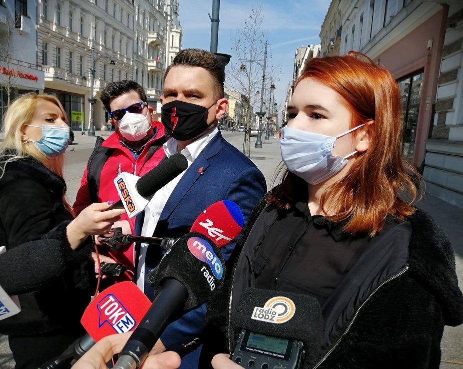 Marcin Gołaszewski i Sandra Osiowa