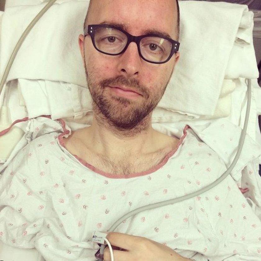 Aaron w szpitalu