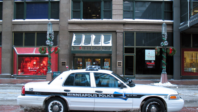 Policja Minneapolis
