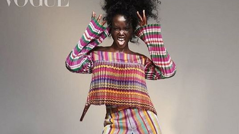 Nigerian designer Kenneth Ize featured in Vogue's September issue editorial [Credit: Instagram/ KennethIze]
