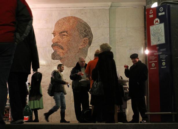 Moskiewskie metro: stacja biblioteka imienia Lenina