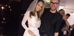 Modelka oblana kwasem wyszła za mąż