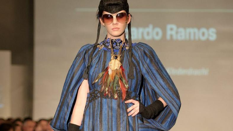 Pokaz kolekcji wiosna-lato 2012 projektantka Ricardo Ramosa podczas Fashion Week Poland