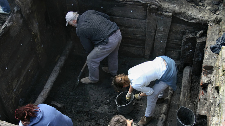 Pracujący archeolodzy