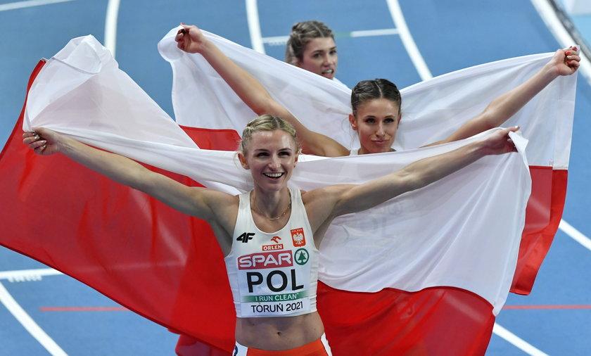 Polskie zawodniczki zdobyły brązowy medal w finale sztafety 4x400m