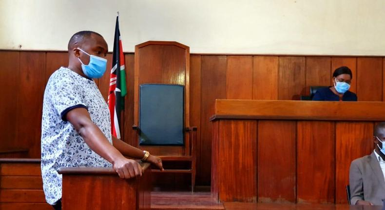 Starehe MP Charles Njagua alias Jaguar during a court appearance to answer to incitement charges