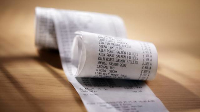 Receipts may contain carcinogens which causes cancer