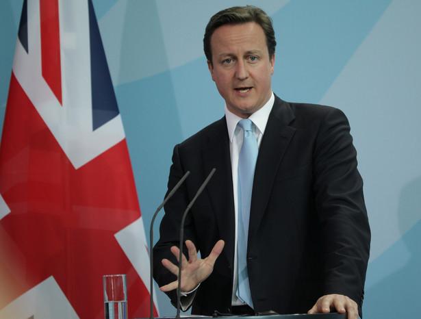 David Cameron. Fot. Bloomberg