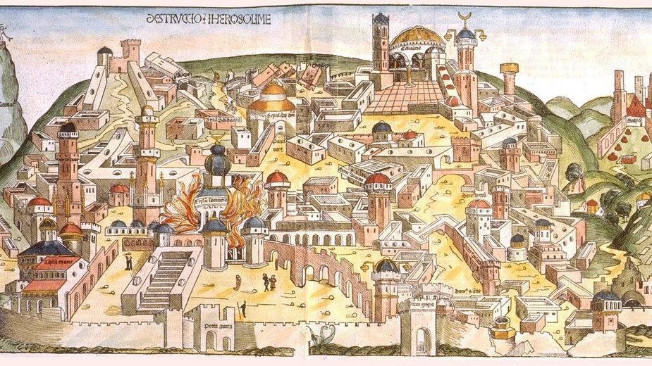Jerozolima średniowieczna (domena publiczna)