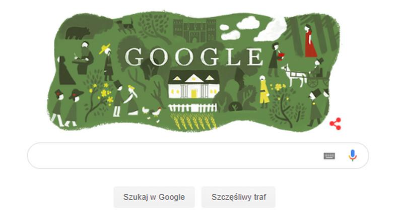 Pan Tadeusz W Google Doodle 185 Rocznica Publikacji