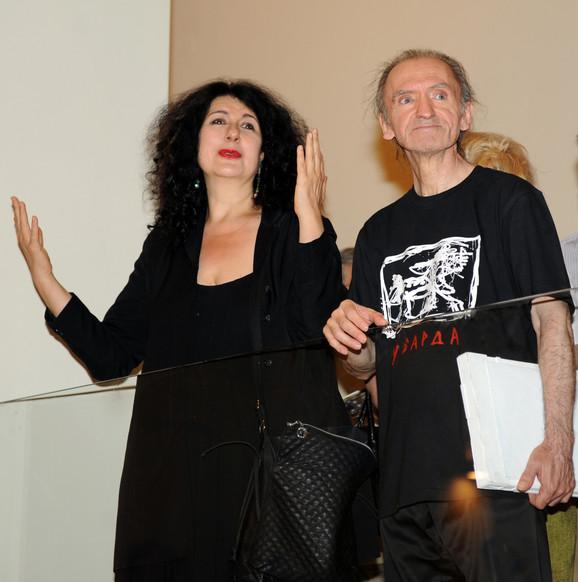 Sa rediteljkom Ivanom Vujić se uvek dobro slagao u teatru
