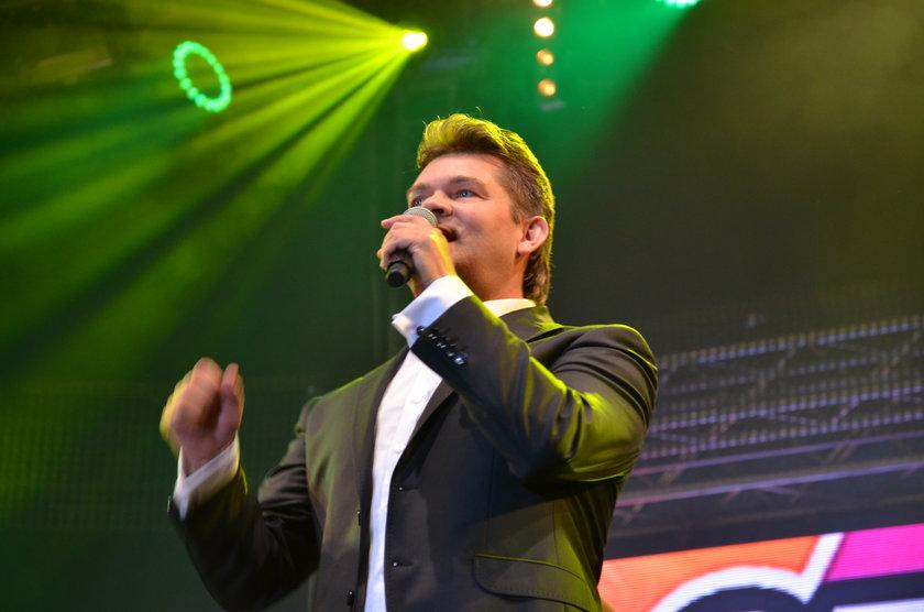 Zenon Martyniuk, wokalista zespołu Akcent