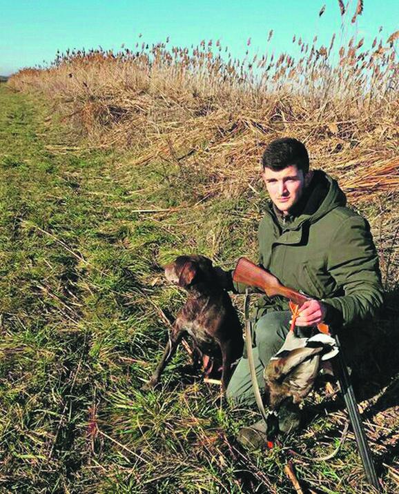Milan Jovanović u lovu