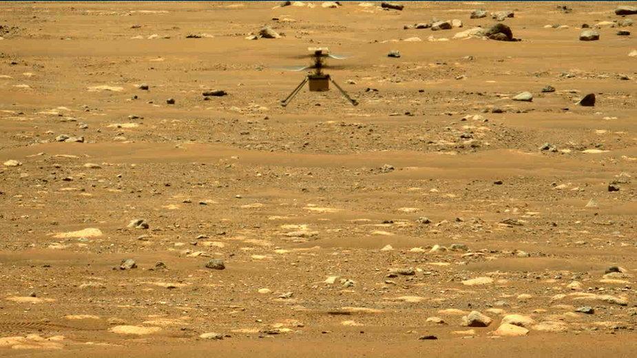 Ingenuity już po raz drugi został przetestowany na Marsie