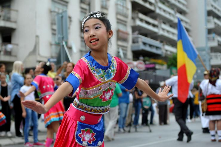 """Međunarodni festival dečjeg folklora """"Licidersko srce"""" u Užicu"""