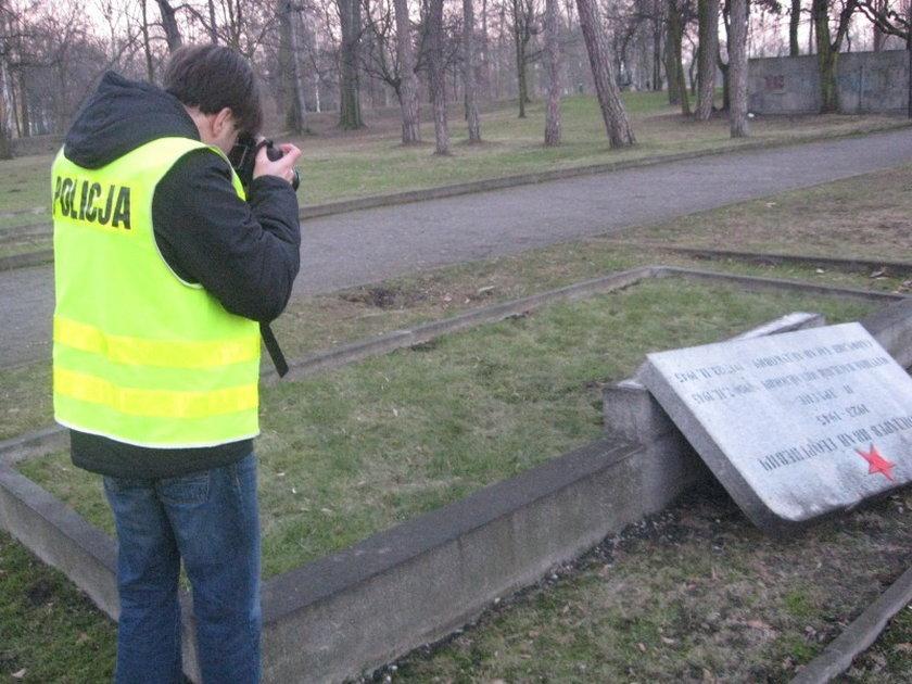 Niszczył groby radzieckich żołnierzy