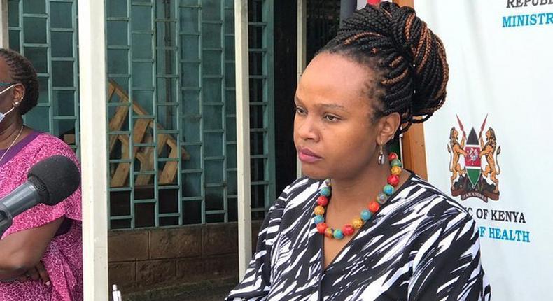 Health CAS Mercy Mwangangi