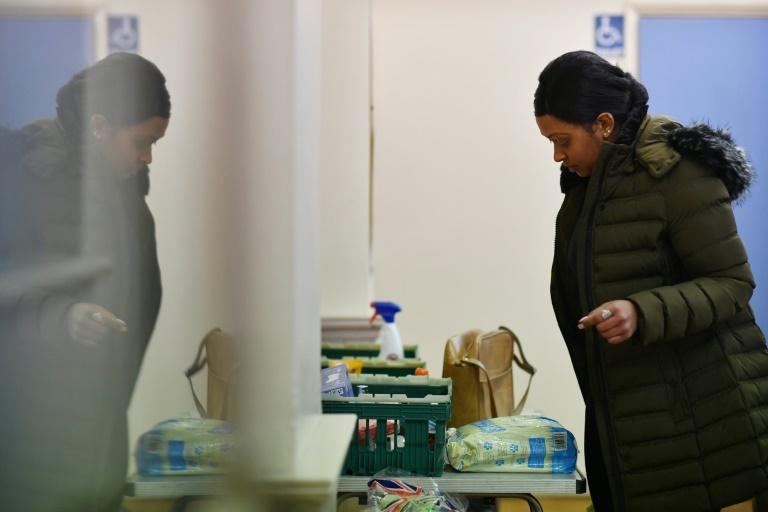 The Slough Baptist Church food bank is one of 1,200 helping people make ends meet in Britain