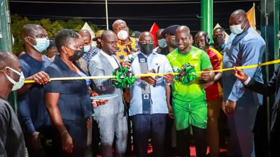 Bawumia commissions ultra-modern Astro Turf at Adjiringanor