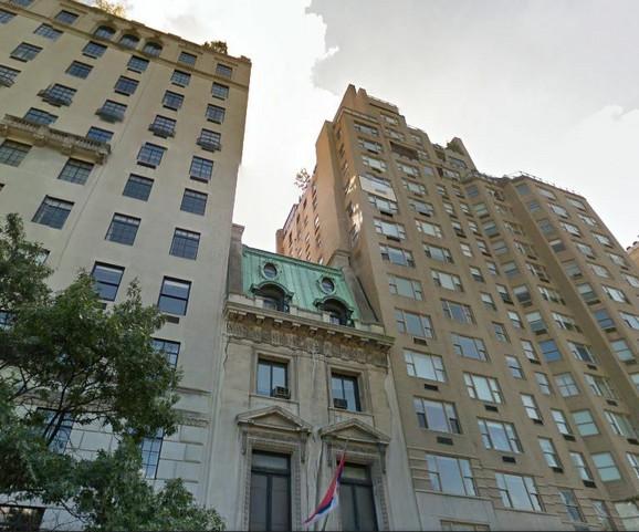 Vila u Njujorku u kojoj je sednište Misije Srbije u UN
