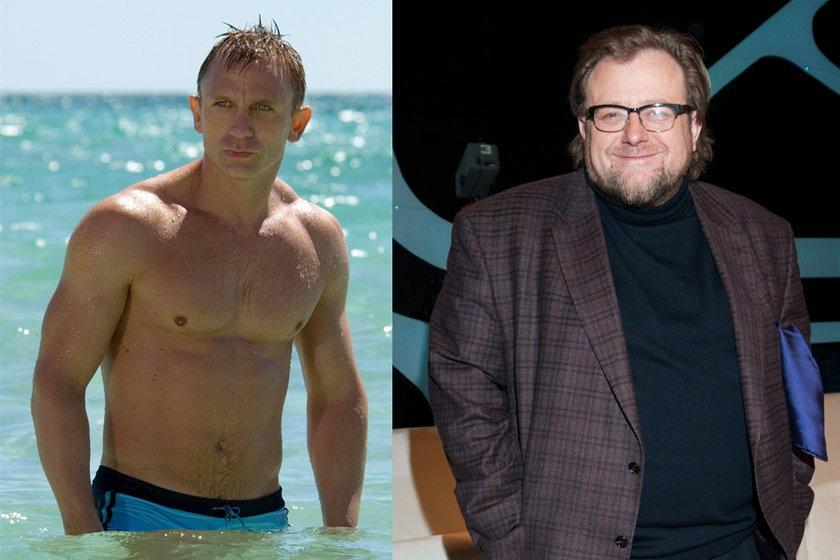 Daniel Craig i Olaf Lubaszenko